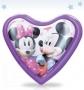 Ночник Нажимай-ка в форме сердца «Микки и Минни» 14H-MM